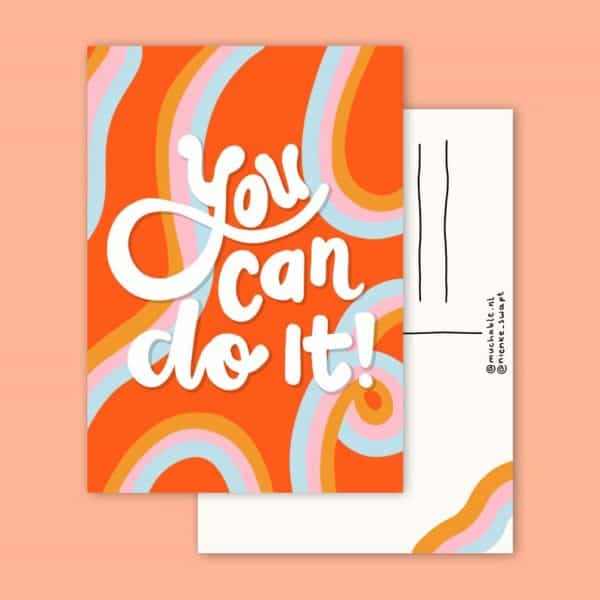You-can-do-it-muchable-a6kaart-GÖTT'S