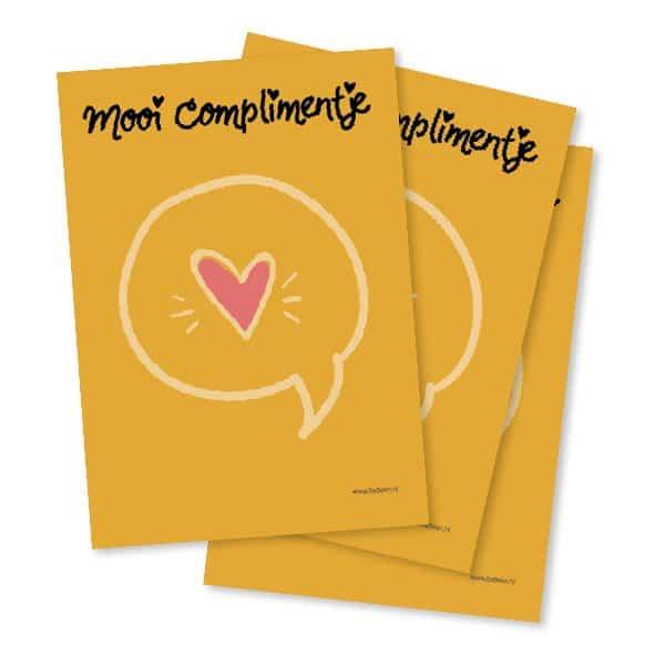 Mooi complimentje