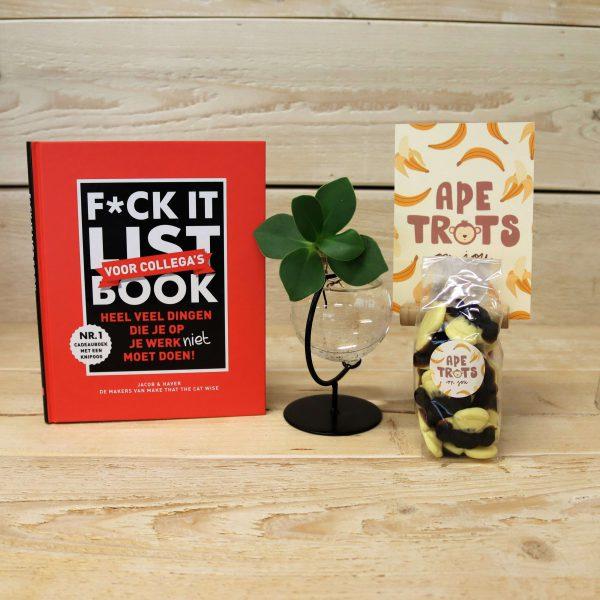 apetrots-fuck-it-boek-luchtzuiverend-plantje-GÖTT'S