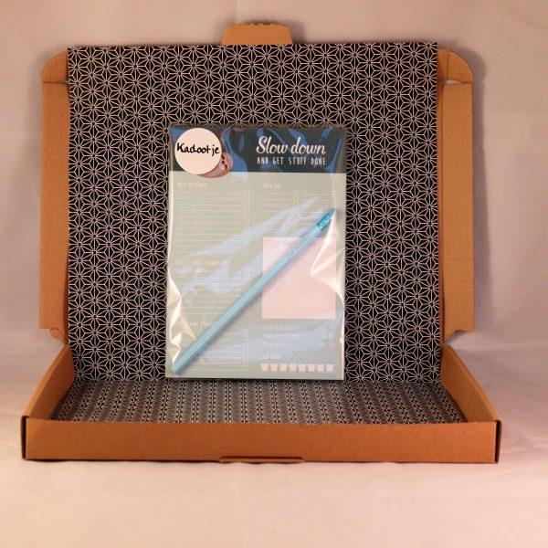 notitieboek_stationary_potlood_motivatie_slowdown_giftsbygötts